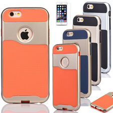 For Apple iPhone 6 6s Plus Shockproof Rugged Hybrid Rubber Hard Phone Cover Case