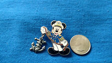 LOT/SET OF 1 DISNEY PIN  91719 DCL - Captain Mickey Mouse with Anchor RARE!!
