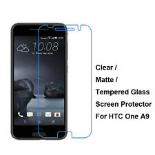 New Tempered Glass / Clear / Matte Film Guard Screen Protector For HTC One A9