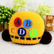 New Cute Toddlers Baby Kids Boys Girls Infant Knitted Beanie Warm  Cap Hat