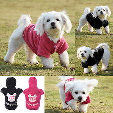 Autumn Winter Cute Cartoon Pet Dog Clothes Mickey Warm Soft Coat Hoodie Jumpsuit