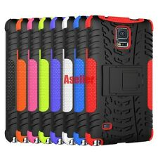 For Samsung Galaxy Note 4 3D 2in1 Shockproof Defender Rugged Hard Case TPU Cover