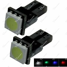 Pair T5 73 74 79 85 1 SMD 5050 LED Indicator Lamp Dashboard gauge Lamp Car ZB002