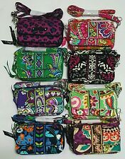 "VERA BRADLEY All in One Crossbody & Wristlet Purse NWT ""Some Retired & Sold Out"""