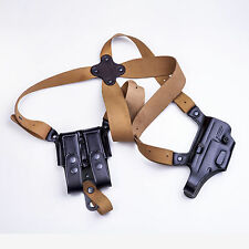 The DM Executive - KIRO Leather Shoulder Holster & Mag Pouch for Colt 1911