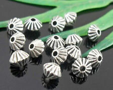wholesale 130/430Pcs Silver Plated  Spacer Beads 5x4mm (Lead-Free)