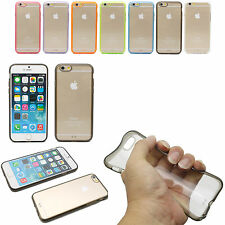 Transparent Crystal Hard TPU Acrylic Back Cover Case For Apple iPhone 6 4.7""