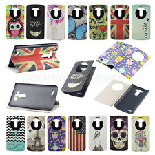 Jaccy For LG Optimus G3 D855 D850 Pretty Leather Flip View Stand Hard Case Cover