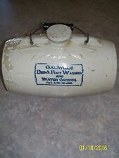 """VINTAGE """"GOODWILL'S""""  BED AND FOOT WARMER WATER CARRIER pat august  20  1895"""