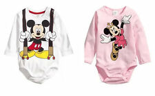 Infant Baby Long Sleeve Newborn Bodysuit Playsuit Boy Romper Girl Clothes 0-6M