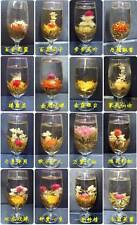 16 different BLOOMING TEA,-- Artistic flowering Green herbal ball, FREE Shipping