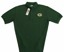 Green Bay Packers NFL Team Apparel Classic Polo Shirt - Mens Sizes-Green-NWT