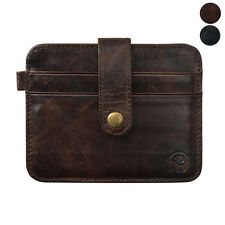 Slim Credit Card Holder Mini Mens Leather Wallet ID Case Purse Bag Pouch подарок