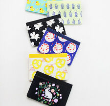 With Alice RIM Mini Card Case Simple Holder Credit Name Card Cute Illustration