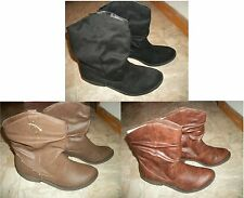 NEW AMERICAN EAGLE WESTERN COWBOY BOOTS  BLACK OR BROWN WOMEN'S SHOES SIZE 13