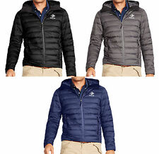 $275 Polo Ralph Lauren Mens RLX Down Feather Quilted Full Zip Jacket Coat New