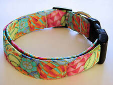 Charming Super Colorful Easter Eggs Dog Collar