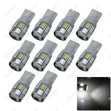 10X T10 655 656 657 W5W 6 SMD 5630 LED Ceiling Light Tail Bulb Lamps Auto ZA055