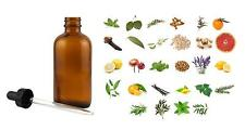 100% Pure Essential Oils 30ml - 1oz Glass Dropper Bottle Free Shipping USA