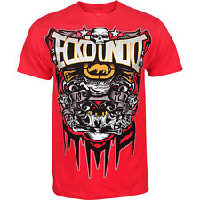 """NWT ECKO UNLTD. MMA """"CANT STOP SS TEE"""" GRAPHIC TEE RED #MMO90143 SIZES: S,M,L"""