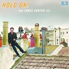 Hold on - Hunter,James Six New & Sealed CD-JEWEL CASE Free Shipping