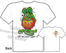 Ratfink T Shirts Big Daddy Clothing Ed Roth Rat Fink Apparel Signature Tee