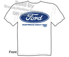Blue Ford Oval T-shirt, Ford Shirt, Inspired Driving Tee, Sz M L XL 2XL 3XL, New