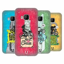 HEAD CASE DESIGNS BICYCLE LOVE HARD BACK CASE FOR HTC ONE M9