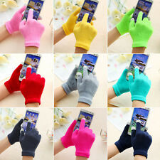 Soft Winter Men Women Touch Screen Gloves Texting Capacitive Smart Phone Knit