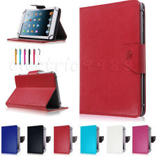 """Universal Folio Book PU Leather Case Cover For Pendo Pad 7"""" 8"""" 10.1"""" Tablet PC"""