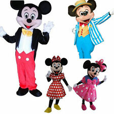 Hot Mickey Minnie Mouse Mascot Costume Adult Party Fancy Party Dress EMSshipping