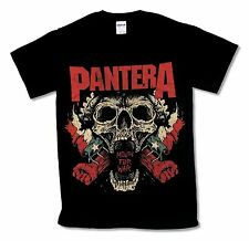 """PANTERA """"MOUTH FOR WAR"""" BLACK T-SHIRT NEW OFFICIAL ADULT METAL BAND MUSIC"""