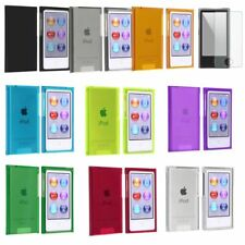 Color Hard Plastic Skin Case Cover For iPod Nano 7 7G 7th Gen+Diamond LCD Film