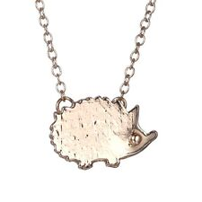 Lady Women Silver/Gold Hedgehog Pendant Necklace Chain Wedding Engagement Gift