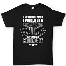 Super Cool Uncle Fathers Day Gift Present For Dad T shirt - Tee T-shirt