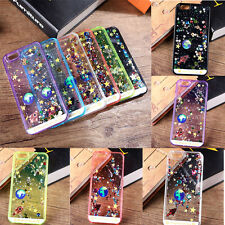 Glitter Bling Sparkle Starry Sky Star Back Phone Case Cover For iPhone 6/6s New