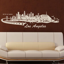 Style and Apply Los Angeles Skyline Wall Decal