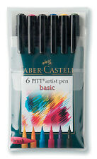 PITT Faber-Castell Artist Brush Pens Set of 6
