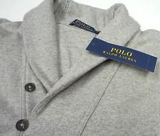 NWT $165 Polo Ralph Lauren Gray Cardigan Button Sweater Mens S L XL XXL Grey NEW