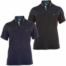 Mens King Size Big Tall Polo T-Shirt by D555 'JAMIE' Short Sleeved