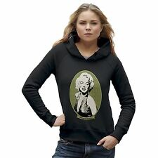 Twisted Envy Women's Marilyn Monroe Money Portrait Hoodie