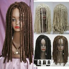 Dreadlocks Africans Full Wig Long Wavy Rolls Costume Wig Hair Cosplay Party Wigs