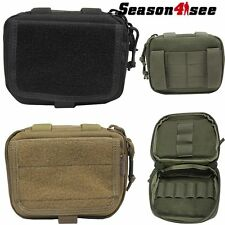 1X Tactical Molle Multifunction Admin Map Bullet Ammo Bag Airsoft Pouch