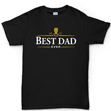 Best Dad Ever Irish Stout Whiskey Father's Day Gift Daddy T-shirt Tee Top Tshirt