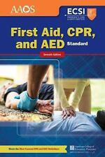 Standard First Aid, CPR, and AED by Dee McGonigle Paperback Book (English)