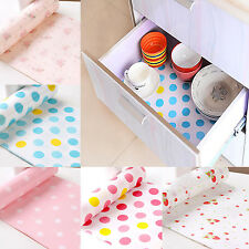 New Polka Dots Shelf Contact Paper Kitchen Table Cabinet Drawer Liner Mat Decor