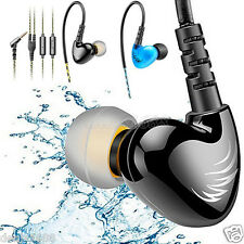 3.5mm Sports Headphones Waterproof Earphones HIFI Bass Stereo Headset Ear hook