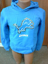 NFL Detroit Lions NEW hooded sweatshirt Youth Sizes S-XL NWT Team colors