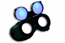 s TrYptiX See-Through Cyber Goth Goggles Cosplay Steampunk EDC Burning Man UMF