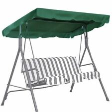 "Patio Outdoor 65""x45"" Swing Canopy Replacement Porch Top Cover Seat Furniture"